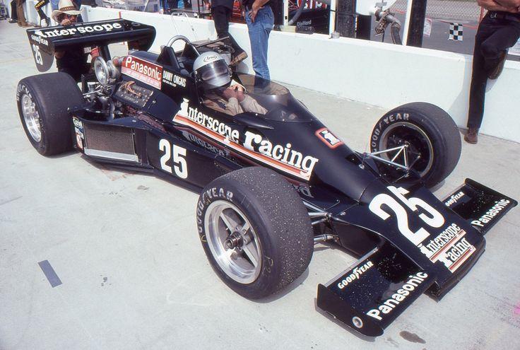 Danny Ongais Interscope Racing Ontario Motor Speedway Indy 500 Parnelli Photo | eBay