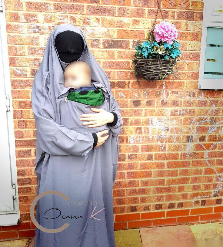 Jilbab de portage et allaitement, pour materner en toute simplicité et pudeur
