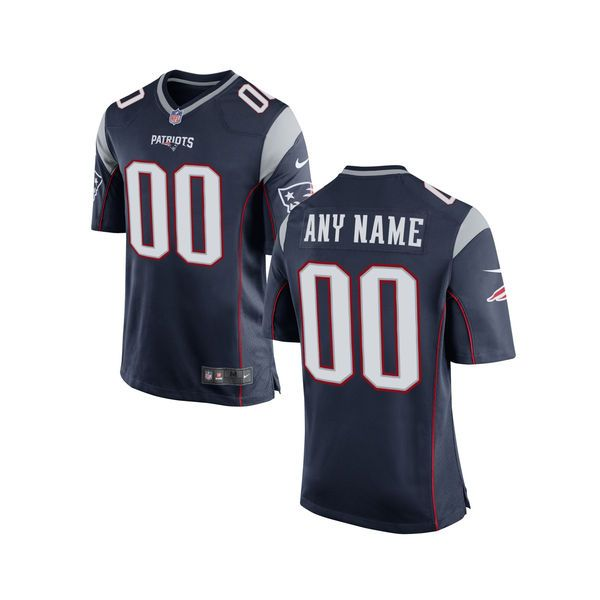 Youth New England Patriots Nike Navy Customized Game Jersey - $109.99
