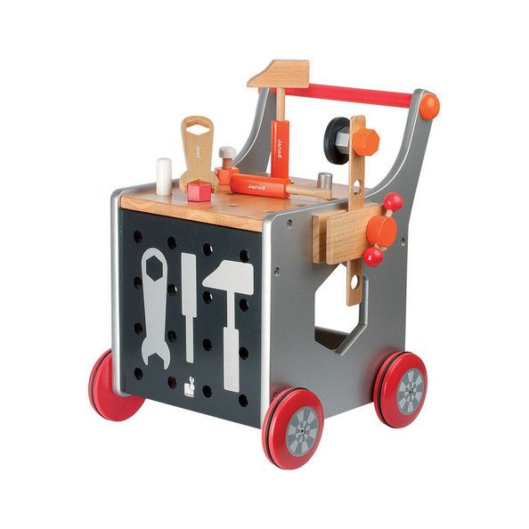Toddler Gussie?   Tool Trolley by Janod