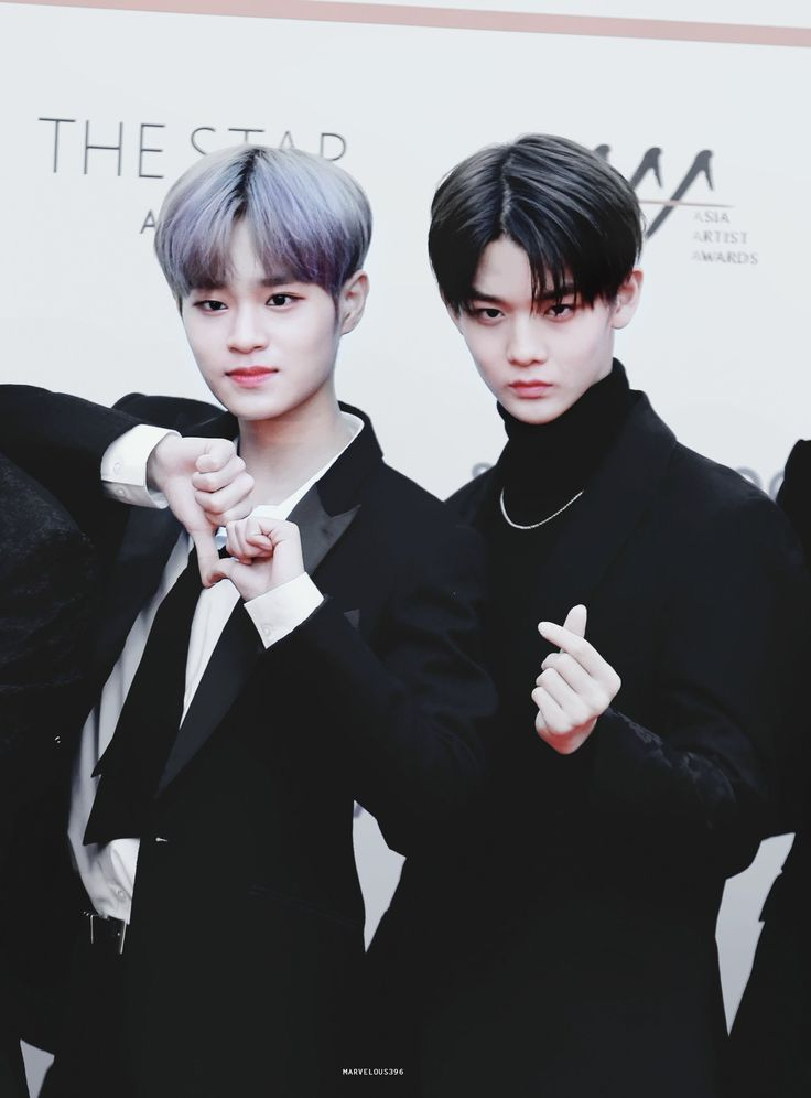Wanna-One - Daehwi and Jinyoung