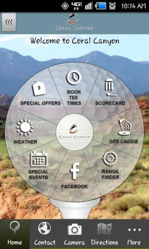Do you enjoy playing golf at Coral Canyon Golf Course?  The OFFICIAL Coral Canyon Golf Course app, developed by AGN Sports in conjunction with GolfSwitch, gives golfers a free, easy to use, interactive combination of comprehensive course information, GPS positioning, digital scorecard, and various other useful club-specific features.GPS CADDIE - View distances to the tee, front, back, and middle of the green, as well as par for each hole - Interactive shot positioning: simply touch ...