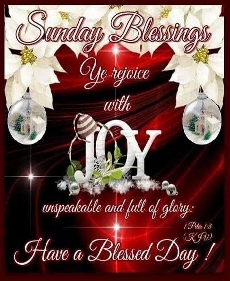 Sunday Blessings. 1 Peter.