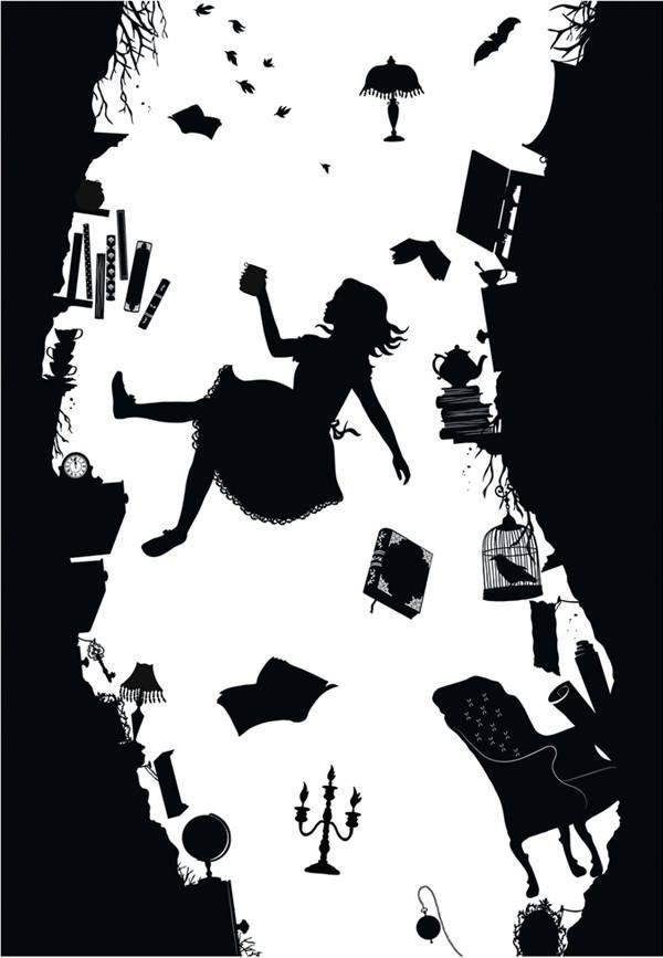 Alice in Wonderland ~ Falling Down the Rabbit Hole