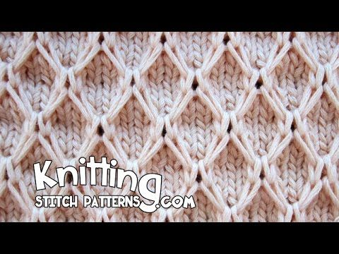 Video Diamond Mesh stitch