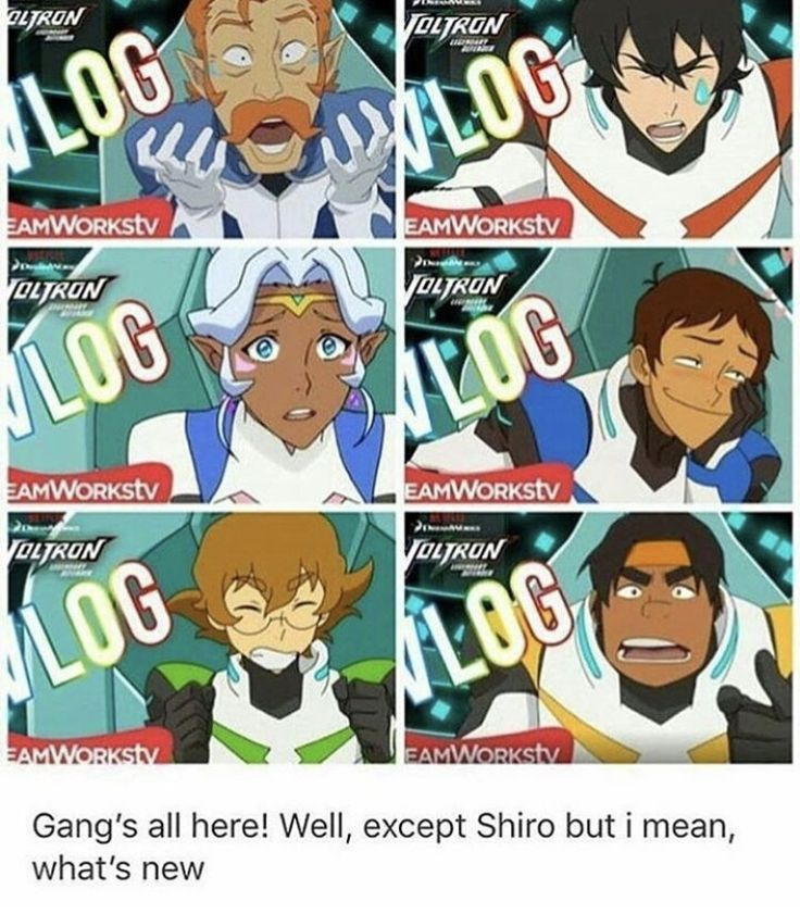 Yeah, but WHICH Shiro would we get << I'm gonna be so pissed if the theory is real AND the vlog is clone Shiro