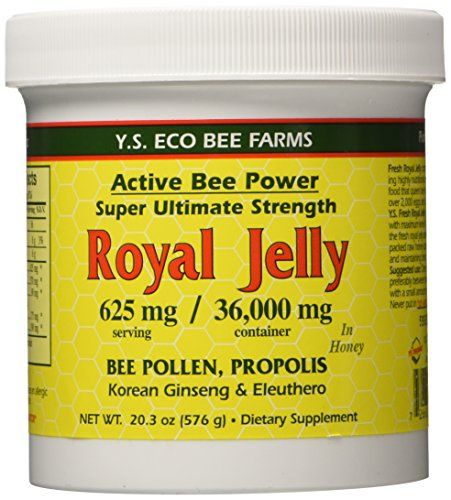 Fresh Royal Jelly   Bee Pollen, Propolis, Ginseng, Honey Mix - 36,000mg Y.S. Org 20.3 oz ** Be sure to check out this awesome product.