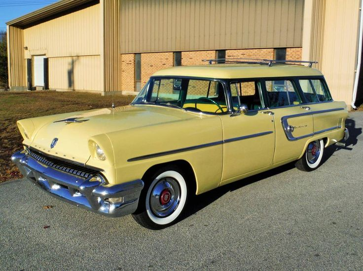 1955 Mercury Monterey Country Wagon Wagons Long Roofs