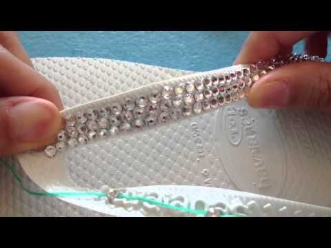 ▶ Best Flip Flop Glue for Embellishing Havaianas and Other Rubber Flip Flops - YouTube