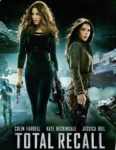 Total Recall 2012 (Colin Farrell, Kate Beckinsale, Jessica ...