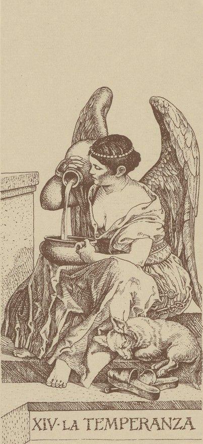14 - La Temperanza (Temperance - tarot card)
