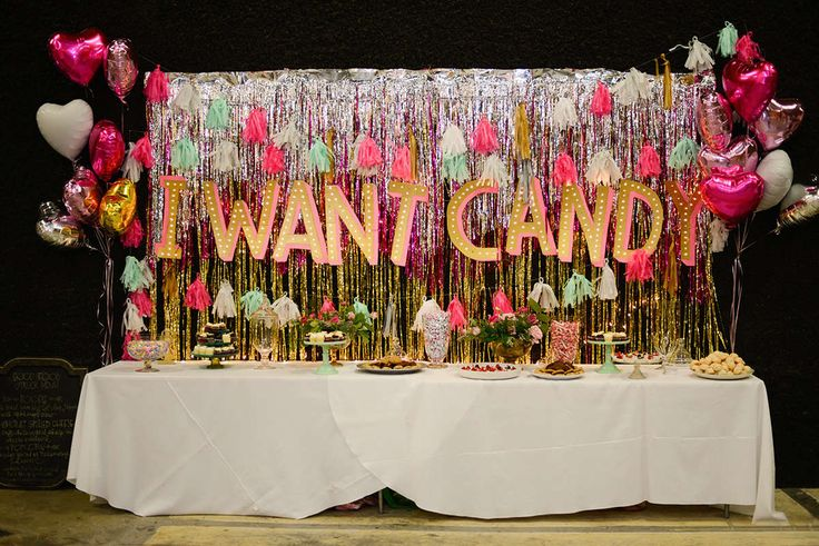 i want candy. cardboard letters with lights.
