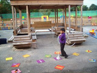 Foundation Stage Two blog Photo of the week  Phonic treasure hunt