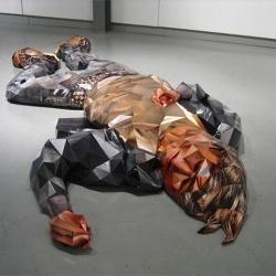 3D Sculptures made using photographs.