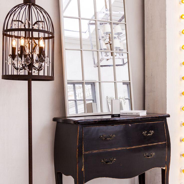 Грациозный металлический торшер «Тюильри» с удивительным абажуром в форме птичьей клетки - экстравагантный фаворит салонного интерьера. В сочетании с люстрой и настенным светильником из одноименной коллекции, торшер «Тюильри» незаменим для смелого дизайнерского перевоплощения гостиной, студии или спальни. #светильник, #торшер, #напольный, #свет, #освещение, #лампа, #электричество, #интерьер, #декор, #interior, #torchere, #floor, #lamp, #objectmechty