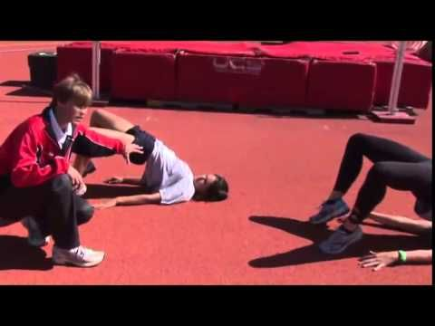 Maximize Your High Jump by Perfecting Your Flight! - Track 2015 #31 - YouTube