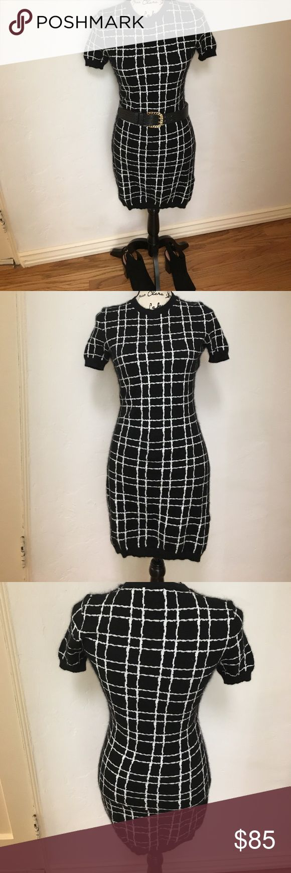 Sale! Luxe Authentic DSQUARED2 Angora dress Beautifully soft. Cute short sleeve dress worn as is or looks great over leggings. 73% Angora 23% polyamide. Like new. Made in Italy. DSQUARED Dresses Mini