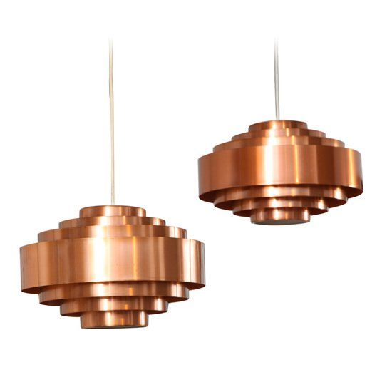 Desire/Acquire: '60s-Era Metallic Tiered Pendants
