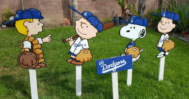 Dodgers Lawn Signs