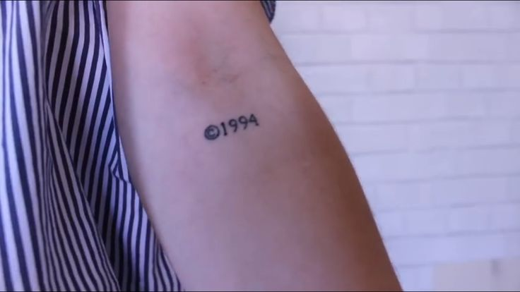 copyright tattoo