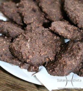 Sušenky otrubovo-kakaové Dukanova dieta
