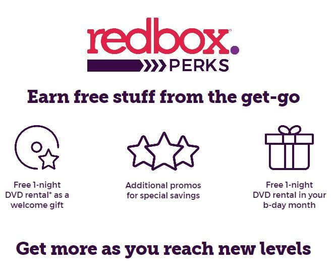 Sign up for Redbox Perks and get a FREE movie rental plus earn other awesome freebies!  #RedboxPerks @redbox #Redbox #ILoveFreebies #FreeMovie #MovieNight #SuperSavingMoms #GetItFree #FreeStuff https://buff.ly/2rTZsCU?utm_content=buffer14be0&utm_medium=social&utm_source=pinterest.com&utm_campaign=buffer