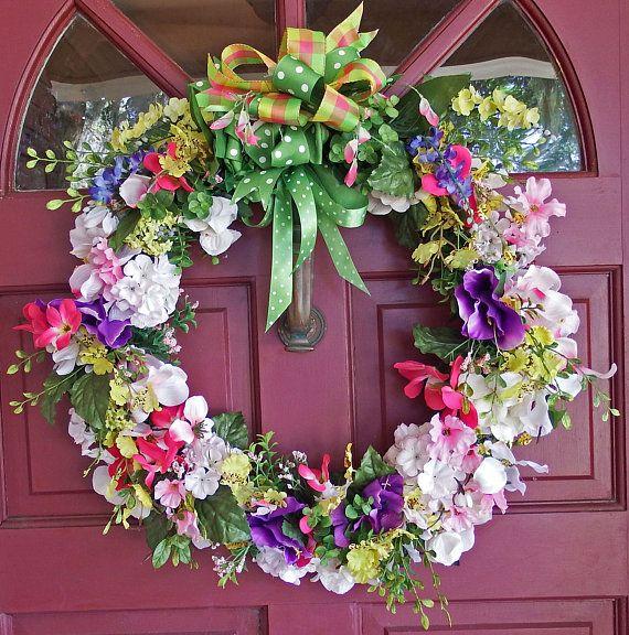Spring/Summer Bouquet Wreath