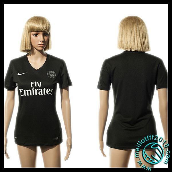 Boutique Maillots PSG Femme Troisième 2015 2016 en ligne