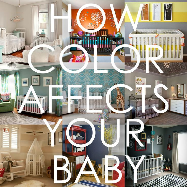 How color affects your baby - this could help you decide on nursery colors!