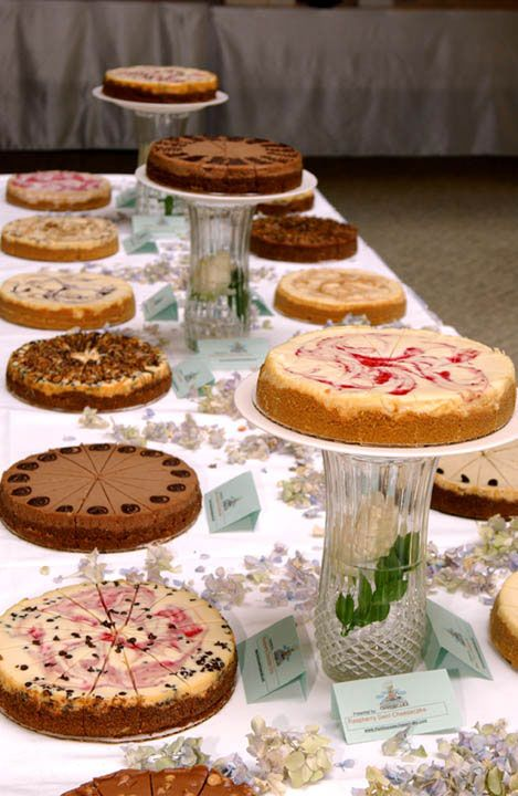 Find This Pin And More On Weddings Ideas Of All Kinds Cheesecake