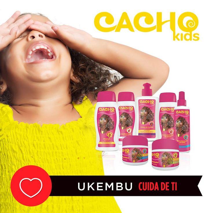 A tua filha não precisa mais de chorar cada vez que a penteias. :)  #ukembu #cachokids