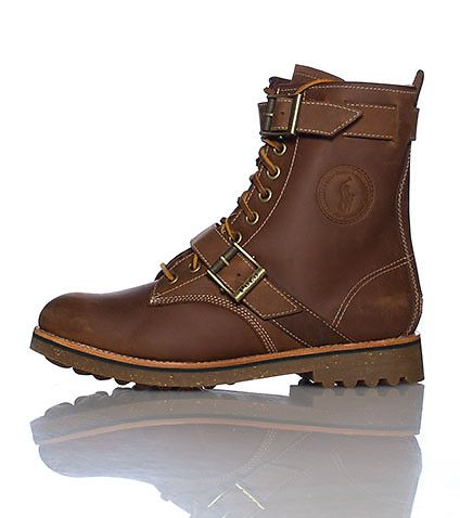 High top POLO boot for men... Winter is almost here, strapping up!