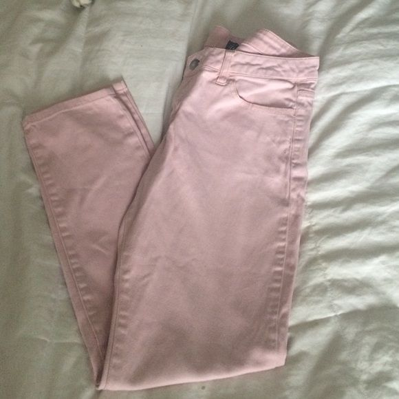 Bebop Skinny Pants Bubble gum pink crapi stretchy skinny pants. Worn only once or twice. They are SUPER comfortoble to wear. BeBop Pants Skinny