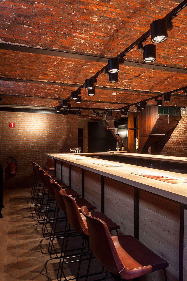 Brewery 'Brouwerij De Koninck' in Antwerp (Belgium). Stove by Modular Lighting Instruments #supermodular
