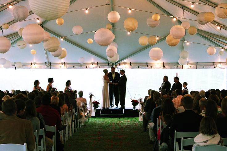 Montana Governor Brian Schweitzer officiates a wedding in Big Sky's Lone Peak Pavilion