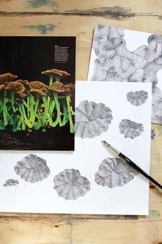 Sketches by Teija Vartiainen.
