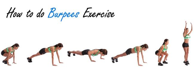 How to do Burpees Exercise