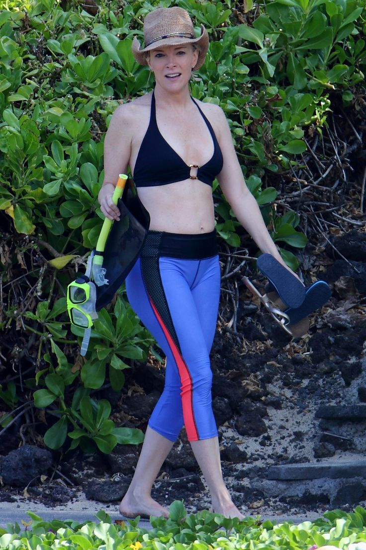Megyn Kelly is used to swimming with sharks, but this week, she got up close and personal with some friendlier fish. The soon-to-be NBC anchor, 46, was spotted snorkeling while vacationing in Hawaii on Wednesday. She arrived to a rocky cove in colorful sw