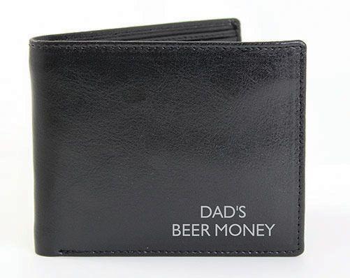 Box Black Leather Wallet