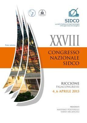 Congresso Nazionale SIDCO Società Italiana di Dermatologia Chirurgica ed Oncologica al palacongressi di Riccione dal 4 al 6 aprile 2013.Offerta hotel 3 stelle