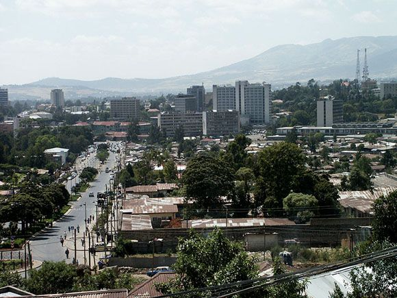 Addis Ababa, Ethiopia.  My home for about two years in the 1970's.