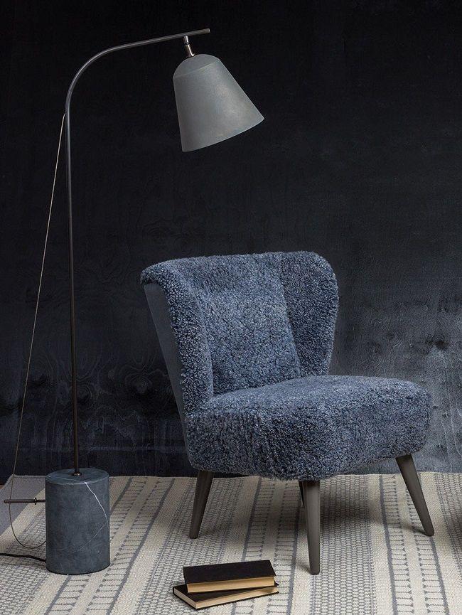 blue living room ideas wool ziggy chair