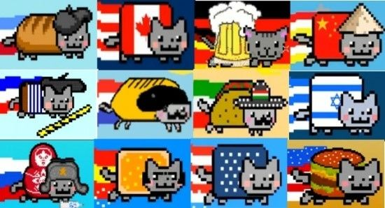 French Nyan Cat | One World, Under Nyan Cat We Trust