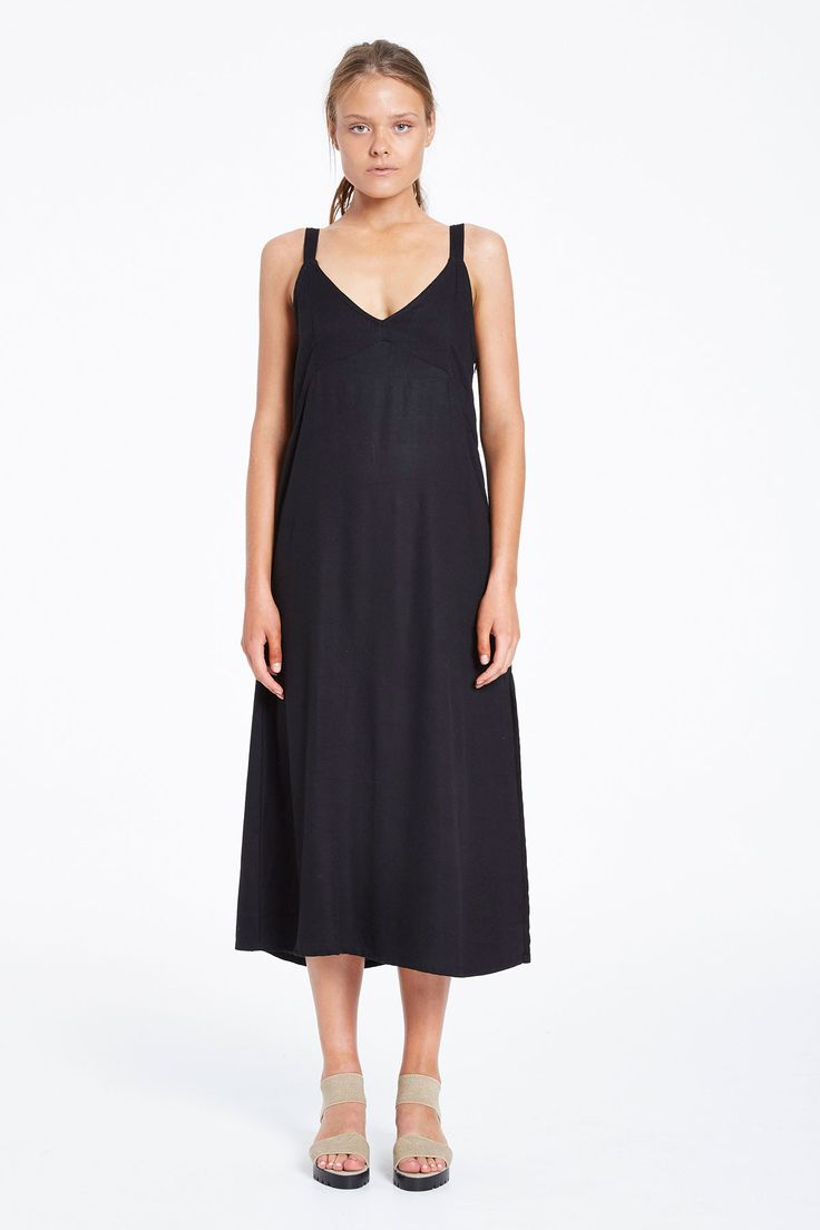 ZULU & ZEPHYR - Sunshade Maxi Slip Dress