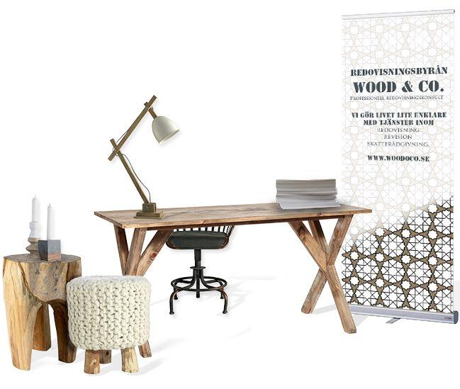 industrial wood inspiration business profile and interior design koncept // företagsprofil, inredningskoncept, Grafisk formgivning och inredningsdesign