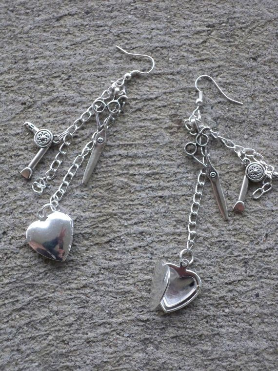 Cosmetologist / Hairdresser Dangle Earrings – Free USA Shipping