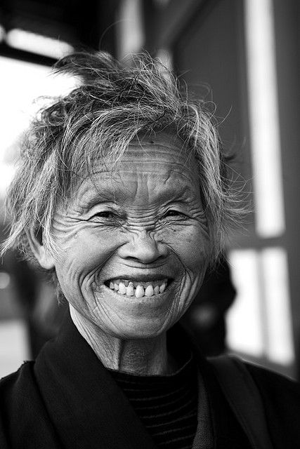 """It is a happy smile & a positive, loving spirit that makes a person beautiful -- all the wrinkles in the world cannot erase that kind of beauty.""  ~Skye"
