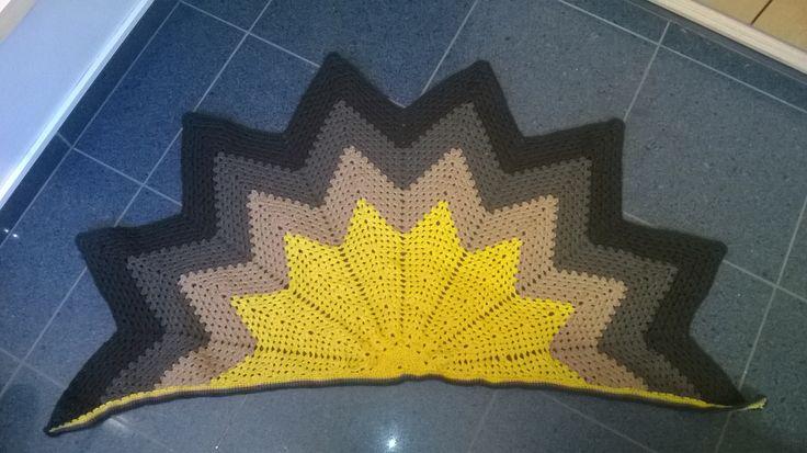 Zelfgemaakte sjaal