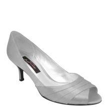 Nina Criana | Royal Silver Royal Satin Mother Of The Bride, Wholesale, Nina Womens, Shoes, Pumps, Wedding Shoes, Fashion, __Temp, Short Story: Mid-Level Heels | Nina Shoes