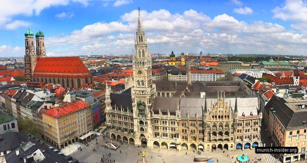 Munich Attractions and Self-Guided Walking Tours in the Inner City